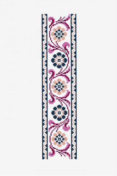 Antique Floral Banner - pattern - Free cross stitch patterns, You can make really special designs for fabrics with cross stitch. Cross stitch versions will almost surprise you. Cross stitch newcomers could make the versions they want without difficulty. Cross Stitch Borders, Cross Stitch Designs, Cross Stitching, Cross Stitch Embroidery, Cross Stitch Patterns, Flower Embroidery, Embroidery Art, Embroidery Patterns Free, Embroidery Designs