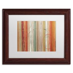 Lisa Audit 'Spiced II' Matte, Wood Framed Wall Art