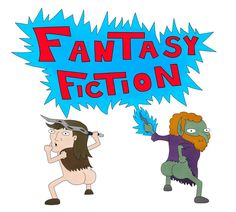Some fanart I made for the guys over at Fantasy Fiction Podcast! Fantasy Fiction, Traditional Art, Art Drawings, Fanart, Deviantart, Guys, Logos, Logo, Fan Art