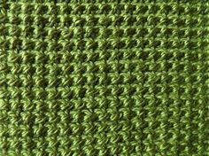 Tunische omgekeerde steek Crochet Wool, Love Crochet, Tunisian Crochet Stitches, Amazing Life Hacks, Crochet Videos, Crochet Designs, Tapestry, Crafty, Knitting