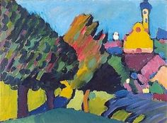 Murnau, 1908 Vassily Kandinsky
