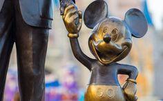 Mickey Mouse Disney Statue HD Wallpaper