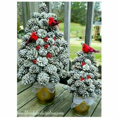 ideas diy christmas tree ornaments red for 2019 Thanksgiving Home Decorations, Thanksgiving Games For Kids, Thanksgiving Banner, Christmas Decorations, Thanksgiving Turkey, Holiday Decor, Christmas Pine Cones, Little Christmas Trees, Christmas Tree Ornaments