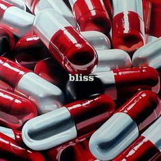 Pills † #dolls #drugs #pharmaceuticals #red #white #pretty #motherslittlehelpers #prescription #pills #text #word #bliss #drugs #false #euphoria