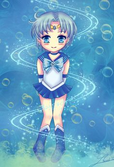 Chibi Sailor Mercury by =Nawal on deviantART