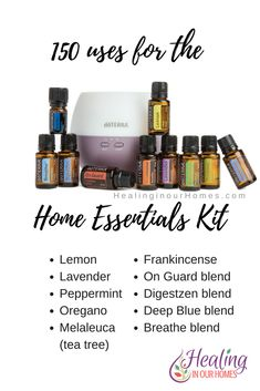 Doterra's Home Essentials Kit