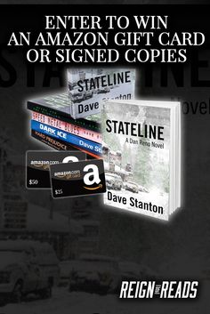 Win a $25 or $50 Amazon Gift Card or Signed Copies from Bestselling Author Dave Stanton
