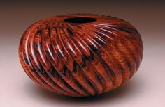 Coco Currents, 2005, by William Hunter;  Cocobolo.  I <3 this!