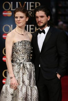 """They know nothing together.   Kit Harington Admits He Fell In Love With Rose Leslie During """"Game Of Thrones"""""""