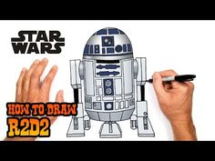 How to Draw Star Wars Bb8, Star Wars Toys, Lego Star Wars, Easy Art Lessons, Drawing Lessons, Cartooning 4 Kids, Drawing Tutorials For Kids, Star Wars Characters, Step By Step Drawing