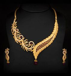 Necklace Design In Gold indian gold necklace pdbkcqp - Jewelry Amor Gold Bangles Design, Gold Jewellery Design, Handmade Jewellery, Indian Gold Jewellery, Indian Gold Necklace Designs, Maxi Collar, Ideas Joyería, Gold Jewelry Simple, Rose Jewelry