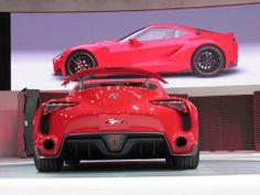 Toyota FT-1 Concept: Supra Successor Hinted At Detroit Show