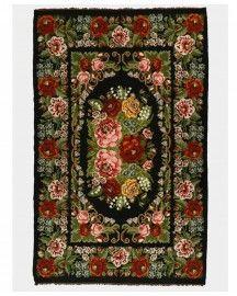 "Tapis ""d'Este"" - Moldavie Objet D'art, Contemporary Rugs, Unique Rugs, Vintage Colors, Decoration, Handmade Rugs, Beautiful Homes, Home Decor, Moldova"