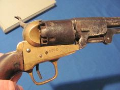 CONFEDERATE FIRST MODEL GRISWOLD REVOLVER 36 CAL. MADE AROUND 1863 MACON GEORGIA…
