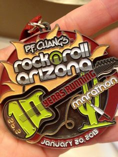 My first full marathon - P.F. Chang's Rock 'n' Roll Arizona January 2013