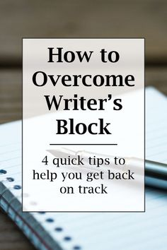 It's hard to write when you're feeling uninspired. So, here's a quick list of tips to help you get back on track and back to writing! Writing Genres, Book Writing Tips, Writing Resources, Blog Writing, Writing Prompts, Writing Notebook, Editing Writing, Start Writing, Writing Help