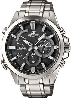 Casio Edifice EQB510D-1A Bluetooth Tough Solar Mobile Link 100m WR