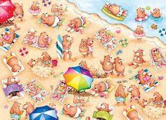 Liz Yee - Beach Bear