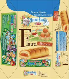 Blog Sorpresine - Dettaglio - Mulino Bianco Dairy Packaging, Food Packaging, Barbie Miniatures, Dollhouse Miniatures, Printable Box, Printables, Doll Crafts, Paper Crafts, Vintage Packaging