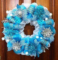 Beautiful Coastal Christmas Wreath