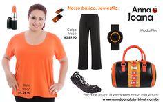Blusas de Visco. Várias cores! Loja Virtual: http://www.annajoanalojavirtual.com.br/