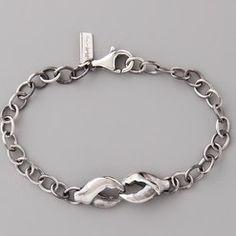elizabeth and james lobster claw bracelet