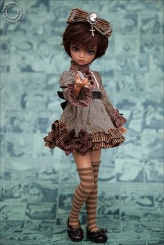 Not in love with the clothes but doll has a pretty face.