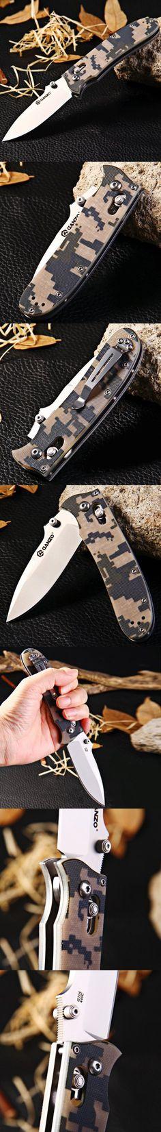Pocket Knives and Folding Knives | Ganzo G704-CA Axis Lock Folding Knife