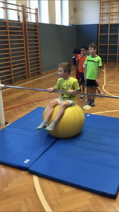 The history As an alternative to the ball games we offered this time stations. These four eventually became. Game structure A . Physical Therapy, Physical Education, Preschool Gymnastics, Gross Motor Activities, Sensory Integration, Baby Gym, Parkour, Reck, Kids Sports