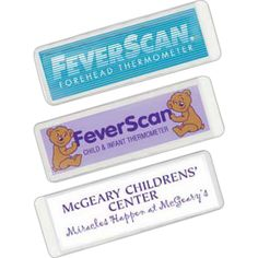FeverScan (R) Forehead Thermometer - Forehead thermometer in clear vinyl sleeve is fast and accurate.