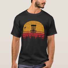 f1fac1b90 Vintage Distressed Retro Frisbee Disc Golf T-Shirt Personalized Shirts,  Custom Shirts, Frisbee