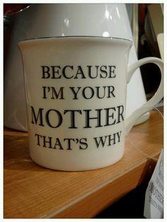 Haha! My mama always said that!