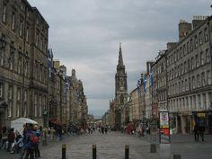 Royal Mile  Edinburgh, Scotland