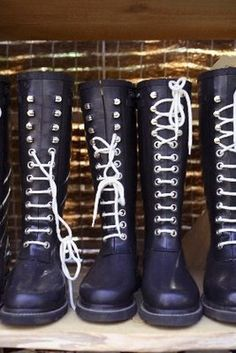 Isle Jacobson boots. So cool!