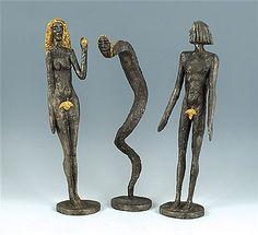 Olbram Zoubek - Artist, Fine Art Prices, Auction Records for Olbram Zoubek Sculptures, Lion Sculpture, Adam And Eve, Auction, Bronze, Statue, Fine Art, Knock Knock, Artist
