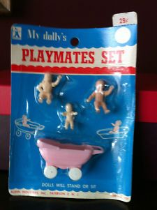 Vintage Doll House Alden Toy/My Dolly's/Playmates Set/Original Package