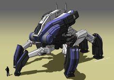Mass Effect: TALOS-mech by ~Marrekie on deviantART