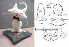 Cat Plushie Pattern