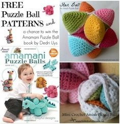 Free Puzzle Ball patterns and a chance to win Amamani Puzzle Balls by Dedri Uys   Book Review and Giveaway.