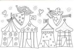 Hola! Os dejo estos dibujos para bordar en redwork.   Espero que os gusten y que los disfruteis ;)             Que tengais un feliz día!...