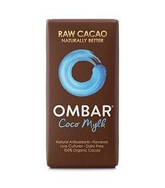 Delicious creamy coconut chocolate with healthy probiotic bacteria. Best vegan milk chocolate equivalent - try a bar and see. Cacao Cru, Raw Cacao, Dried Bananas, Dried Blueberries, Raw Chocolate, Healthy Chocolate, Superfood, Healthy Crisps, Roh Vegan