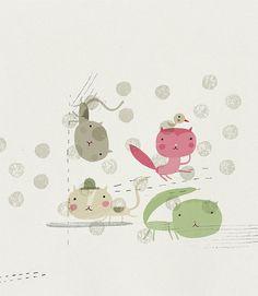 Gatos by Yara Kono