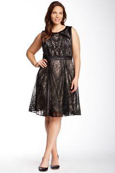 Julia Jordan Lace Dress (Plus Size) by Julia Jordan on @nordstrom_rack