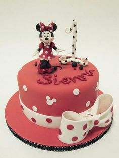 Minnie Mouse for our baby girls first birthday