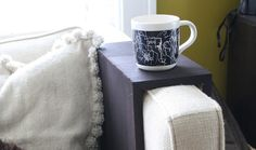 DIY Wooden Couch Sleeves Make the Perfect Spot for Your Drink - Attach Mitered Corners with Angle Brackets