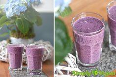Heidelbeershake | vegane Rezepte in Drinks, Smoothies & Shakes