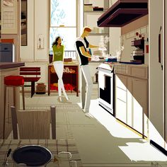 """Home cooked"", pascal campion: April 2015"