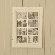 Cream Wooden Multi Frame