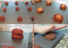 Cookies de Chocolate com Recheio de Manteiga de Amendoim