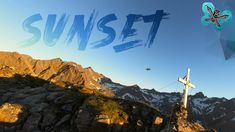 Sunset Drone 4k - two Peaks two Drones Fpv Drone, Drones, Golden Hour, Sunset, Travel, Viajes, Destinations, Sunsets, Traveling